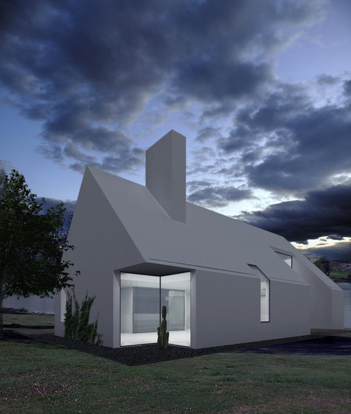 Casa 2 1 un concepto diferente de vivienda unifamiliar for Vivienda unifamiliar arquitectura
