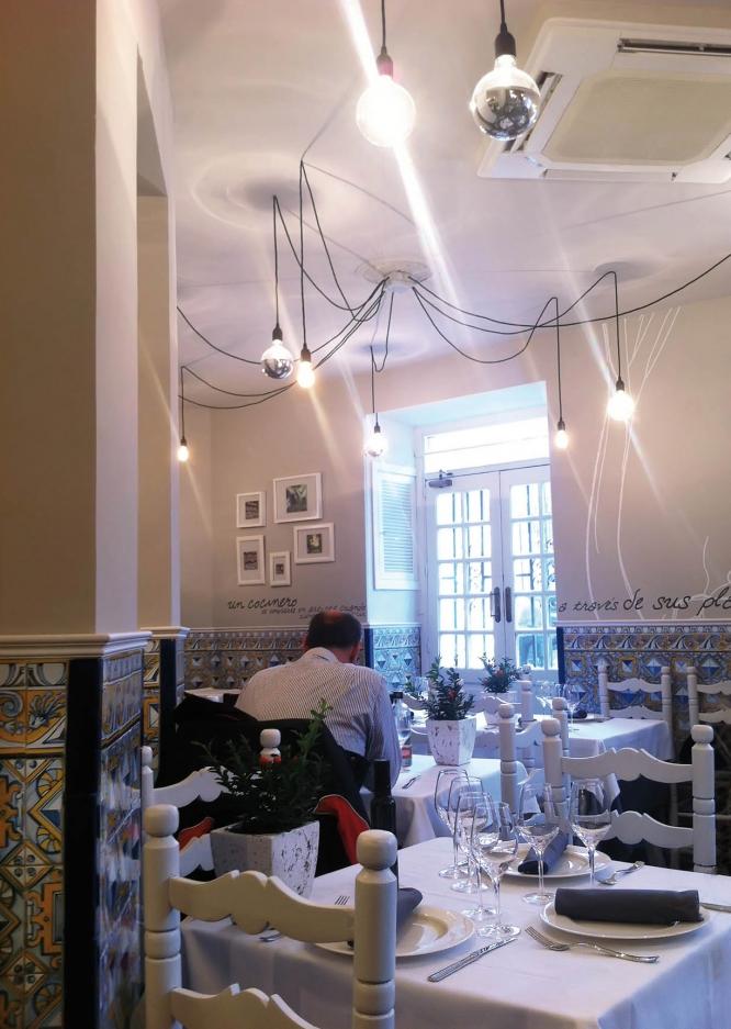 Restaurante comedor La huerta de Casa Ricardo m+ reforma diseño 2013 Hostelería