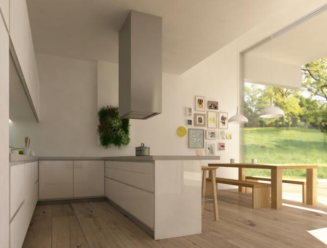 Diseño Interior Construcción Vivienda Unifamiliar Cantabria m+